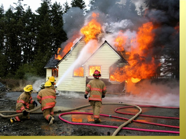 Возле дома и сарая  Разжигать огонь не смей!  Может быть беда большая  Для построек и людей.