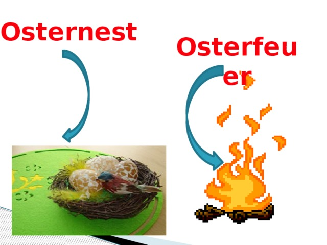 Osterfeuer Osternest