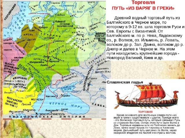 авторам, путь из варяг в греки с картинками них могут