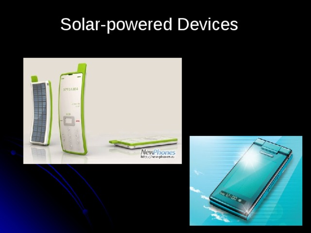 Solar-powered Devices