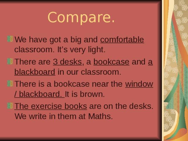 Compare.