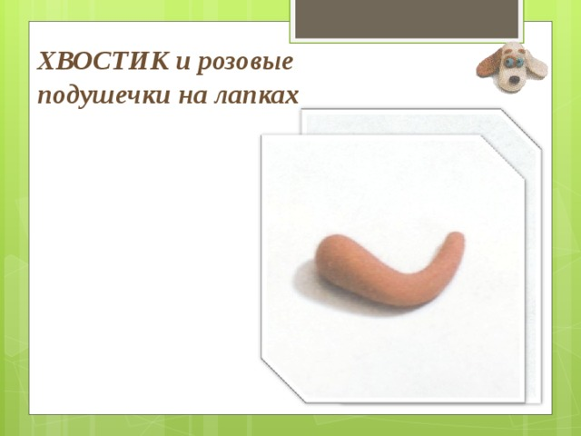 ХВОСТИК и розовые подушечки на лапках