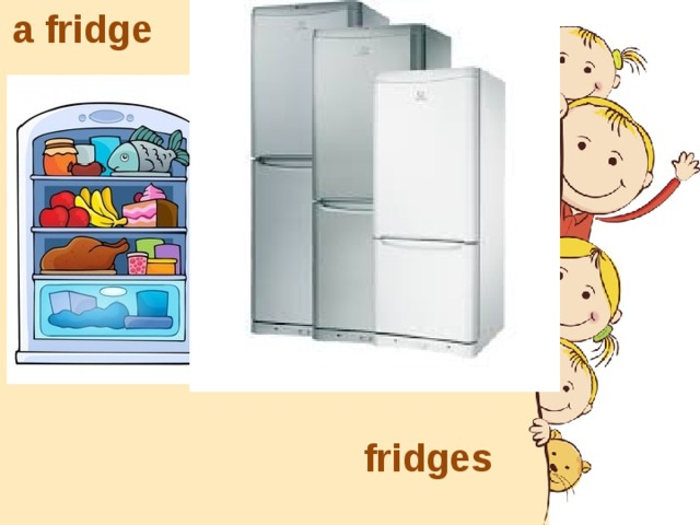 a fridge fridges