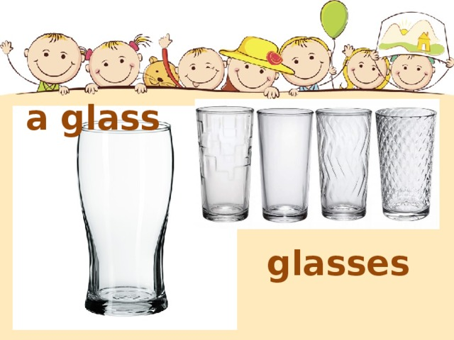 a glass glasses