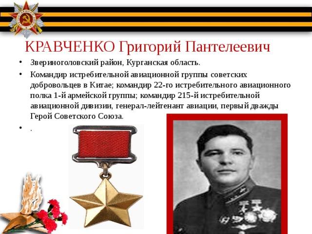 КРАВЧЕНКО Григорий Пантелеевич