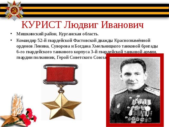 КУРИСТ Людвиг Иванович