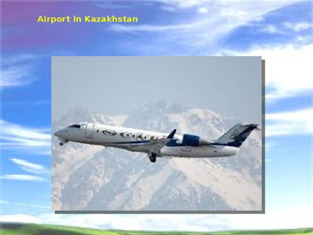 Airport in Kazakhstan
