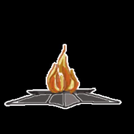 визуальное анимация вечного огня для презентации определяющие