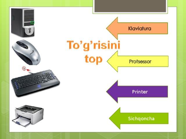 Printer Sichqoncha
