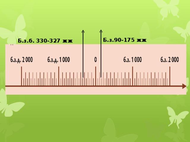 Б.з.90-175 жж Б.з.б. 330-327 жж