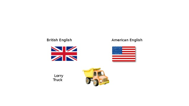 British English  American English  Lorry   Truck