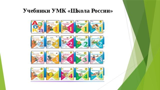 Учебники УМК «Школа России»