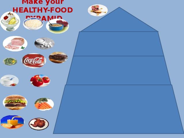 Маке your HEALTHY-FOOD PYRAMID