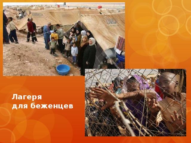 Лагеря для беженцев
