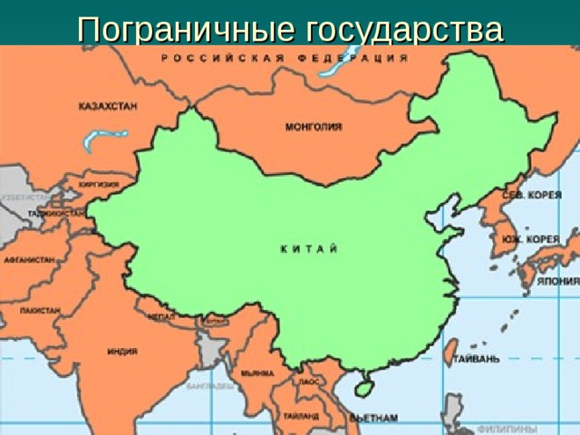 Пограничные государства