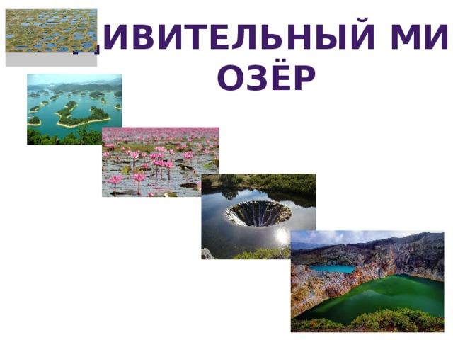 Удивительный мир озёр