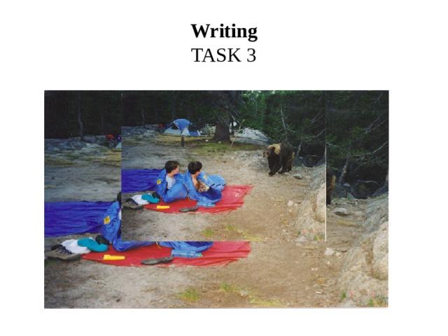 Writing  TASK 3
