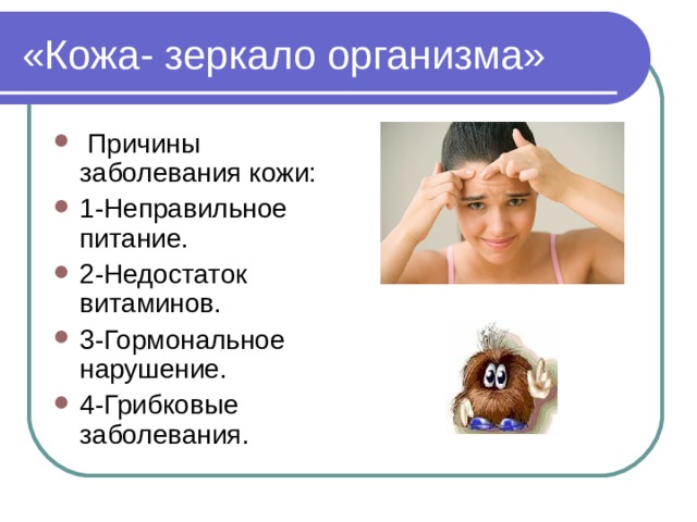 «Кожа- зеркало организма»