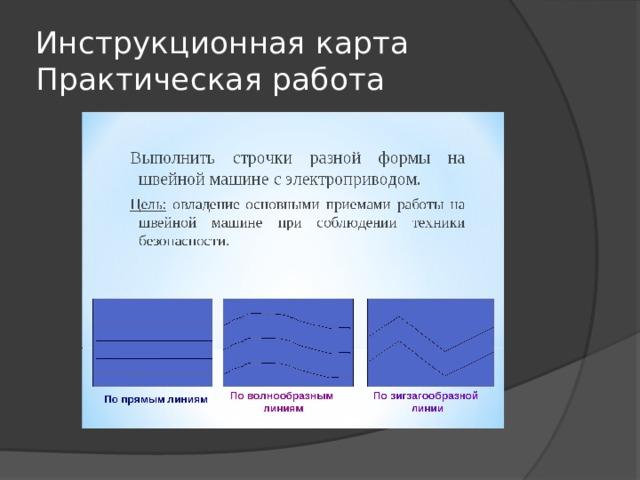 Инструкционная карта  Практическая работа