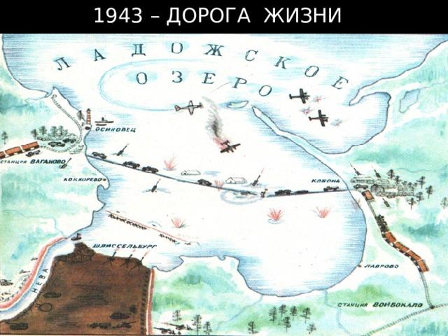 1943 – ДОРОГА ЖИЗНИ