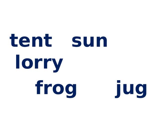 tent sun lorry  frog jug