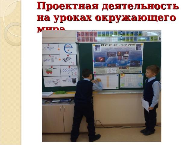 Проектная деятельность на уроках окружающего мира