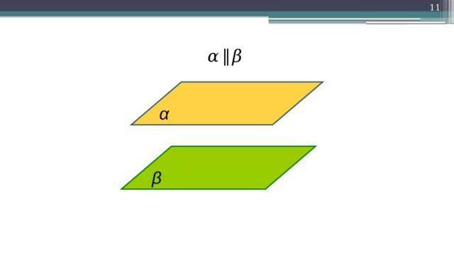 10 α  ‖  β α β