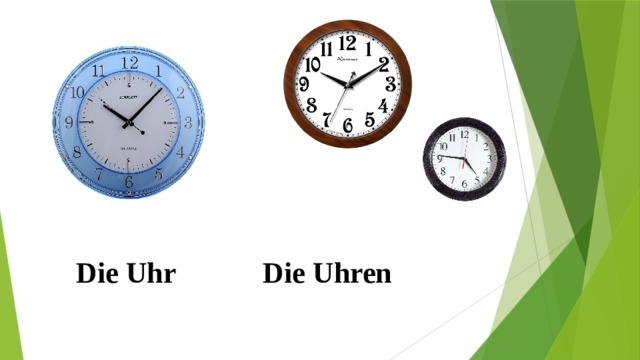 Die Uhr Die Uhren