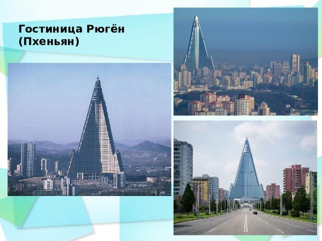 Гостиница Рюгён (Пхеньян)