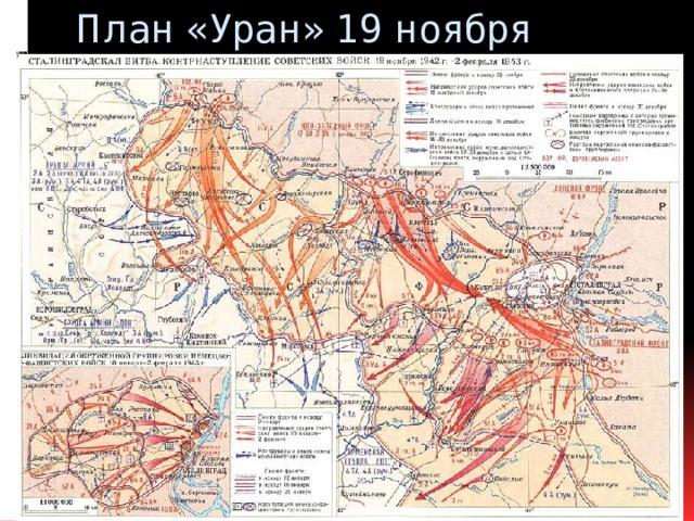 План «Уран» 19 ноября 1942г.