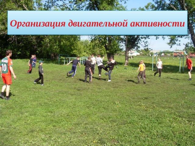 Подвижные перемены Организация двигательной активности  Спортивные соревнования Дни здоровья  Зарядка до занятий  Уроки физической культуры Физкультминутки 12 12