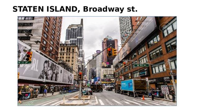 STATEN ISLAND, Broadway st.