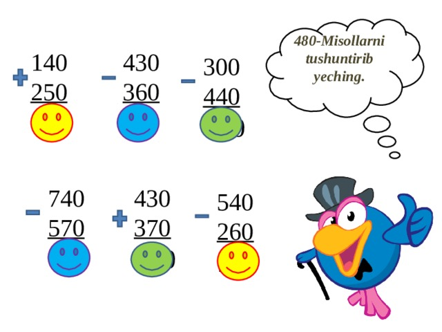 480-Misollarni  tushuntirib  yeching.   140  250  390  430  360  70  300  440  740  740  570  170  430  370  800  540  260  280