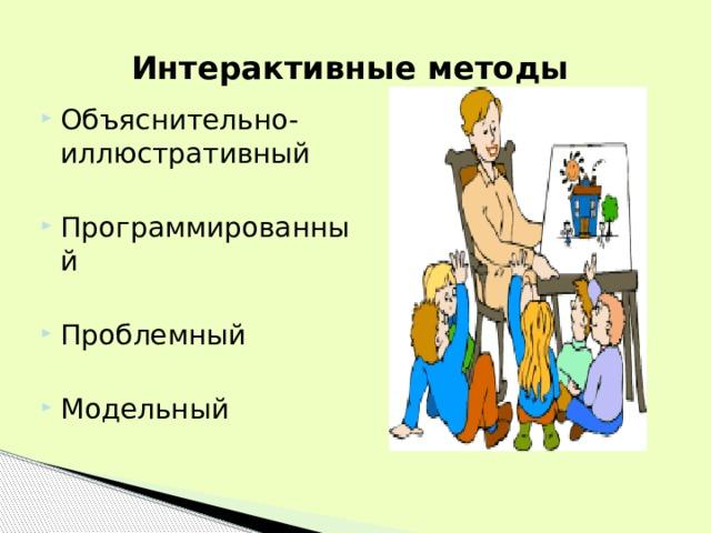 Интерактивные методы