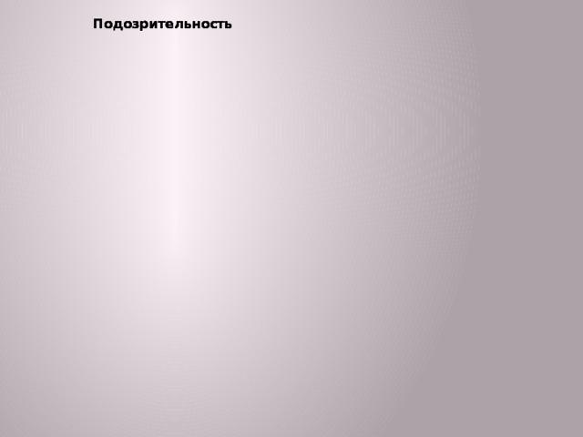 Подозрительность Подозрительность Раздражение Прямая Косвенная Обида Подозрительность Враждебность Прямая Косвенная Обида Виды агрессии Физическая Прямая Косвенная Обида Обида Подозрительность Вербальная Прямая Косвенная