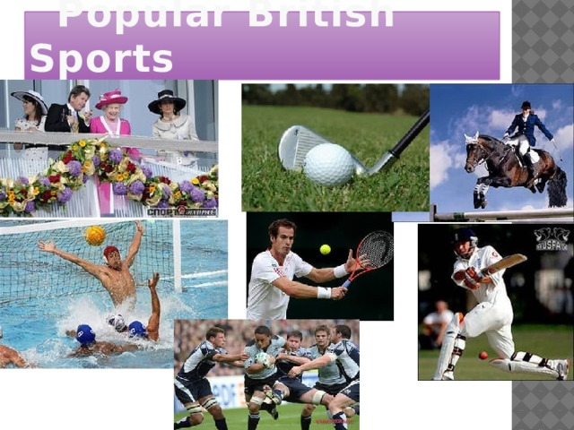 Popular British Sports