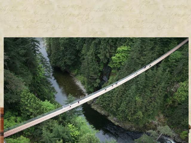 Далее продолжит наше путешествие Висячий мост Капилано