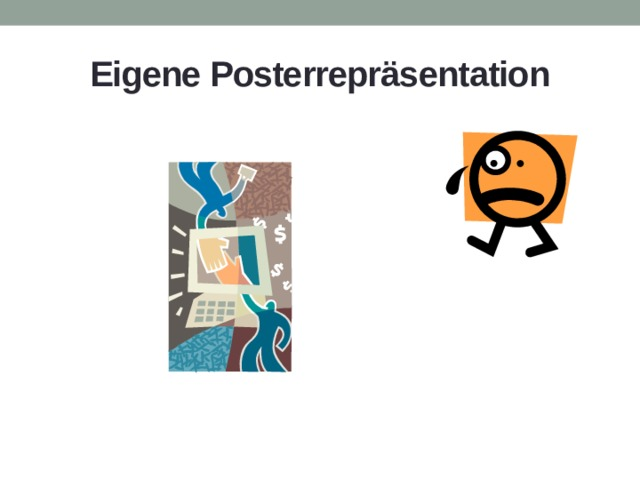 Eigene Posterrepräsentation