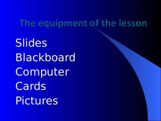 Slides Blackboard Computer Cards Pictures