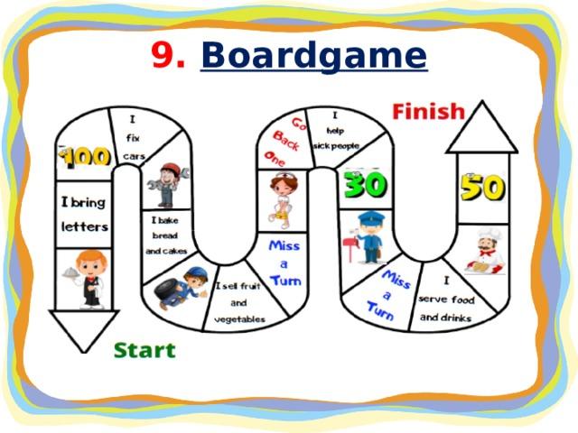 9. Boardgame