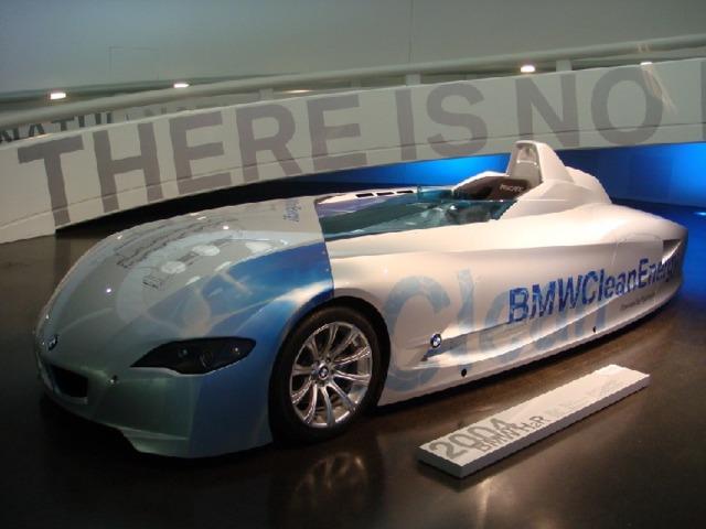 Монстр с водородным двигателем: