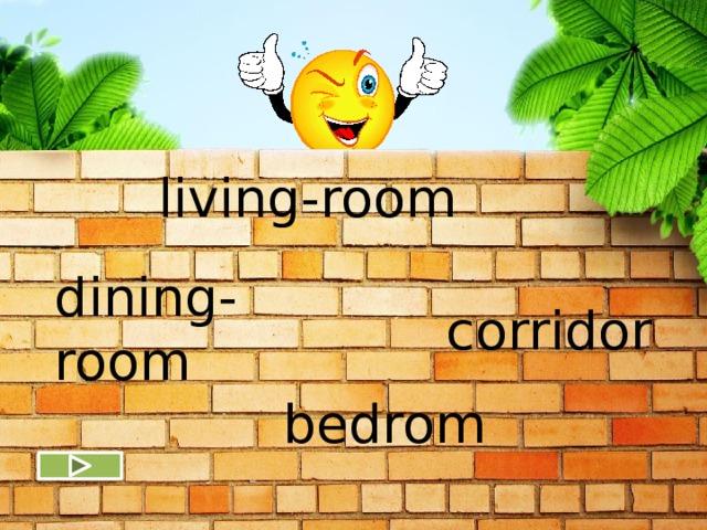 living-room dining-room corridor bedrom