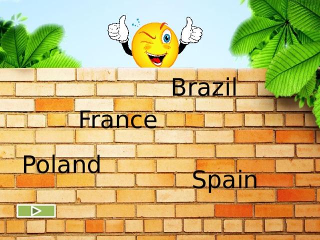 Brazil France Poland Spain