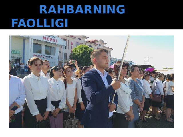 RAHBARNING FAOLLIGI