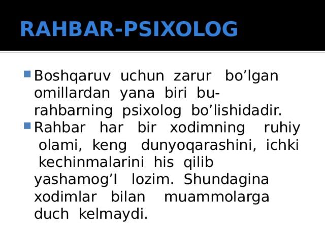 RAHBAR-PSIXOLOG