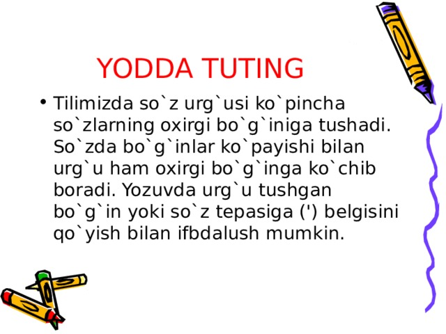 YODDA TUTING