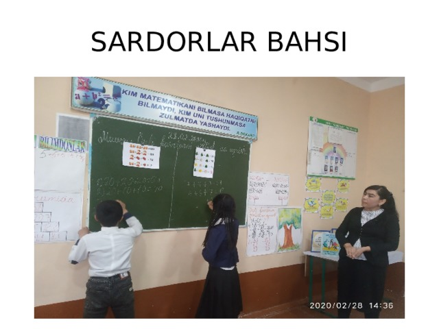 SARDORLAR BAHSI