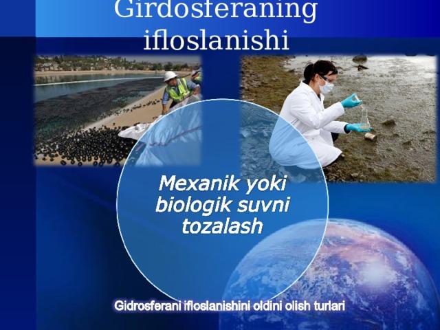 Girdosferaning ifloslanishi