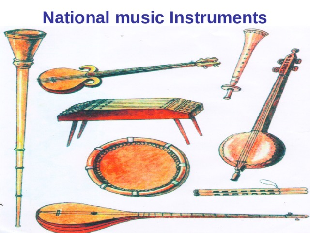 National music Instruments
