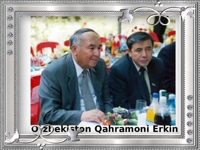 O`zbekiston Qahramoni Erkin Vohidov bilan